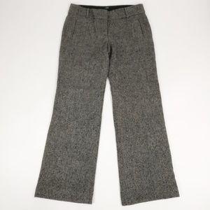 J Crew Womens Wool Blend Gray Dress Pants Sz 6
